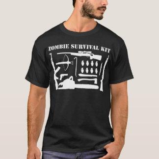Trousse de survie de zombi t-shirt