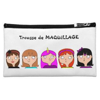 Trousse Maquillage Mlle Pochettes À Maquillage