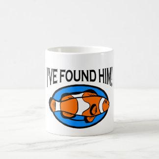 Trouvé le - tasse de Nemo