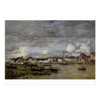 Trouville, le port par Eugene Boudin Carte Postale