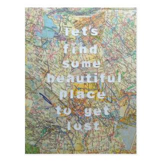 Trouvons une certaine belle carte postale