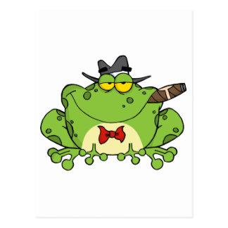 Truand de grenouille carte postale