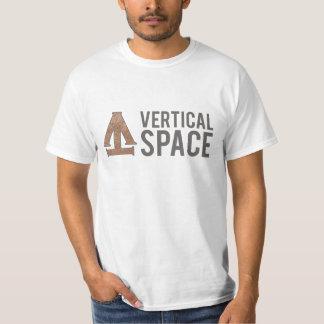 TrueVanguard - chemise verticale de l'espace T-shirt