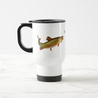 Truite vintage mug de voyage