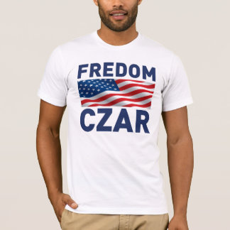 "Tsar ""Anti-Obama"" de Fredom (satire) T-shirt"
