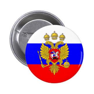 Tsar de Muscovia, drapeau de la Russie Badge