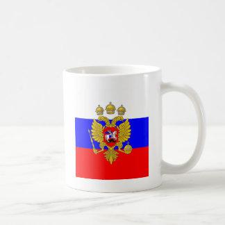 Tsar de Muscovia, drapeau de la Russie Mug