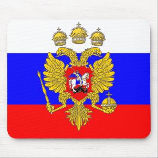 Tsar de Muscovia, drapeau de la Russie Tapis De Souris