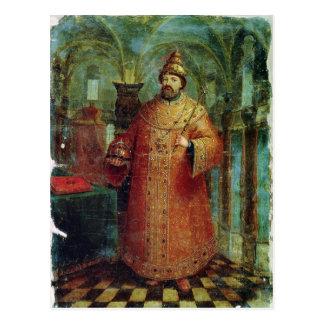 Tsar Ivan Alexeevich V Carte Postale