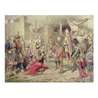 Tsar Ivan IV Vasilyevich le terrible Carte Postale