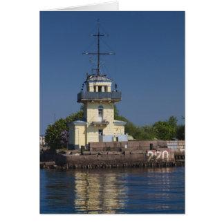 Tsar Peter la ville navale de forteresse de Greats Carte De Vœux