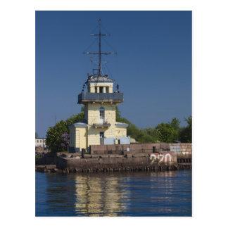 Tsar Peter la ville navale de forteresse de Greats Carte Postale