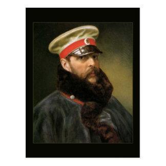 Tsar russe Alexandre II Carte Postale