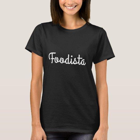 Tshirt FOODISTA Blanc - Femme