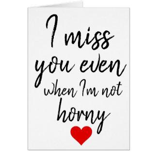 Tu me manque même lorsque je ne suis pas carte
