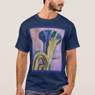 Tuba d'arc-en-ciel t-shirt