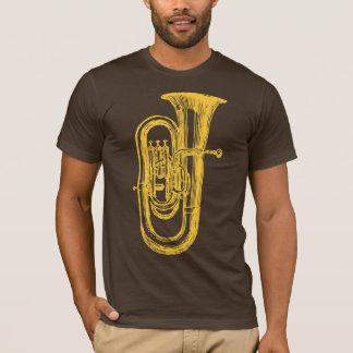 Tuba en laiton t-shirt