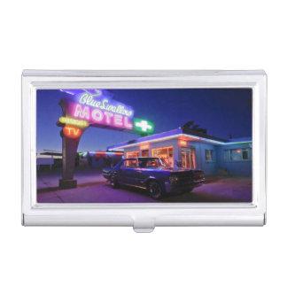 Tucumcari, Nouveau Mexique, Etats-Unis. Itinéraire Boîtier Pour Cartes De Visite