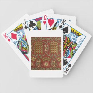 """""""Tudor s'est levé"""", papier peint de reproduction c Cartes À Jouer"""