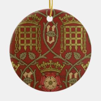"""""""Tudor s'est levé"""", papier peint de reproduction Ornement Rond En Céramique"""