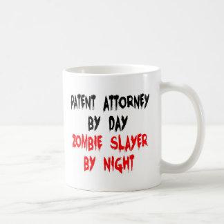 Tueur de zombi de conseil en propriété mug