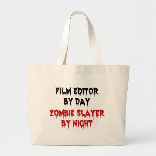 Tueur de zombi de rédacteur de film sac