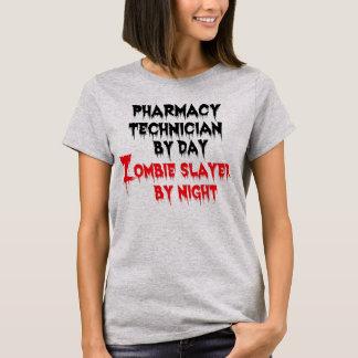 Tueur de zombi de technicien de pharmacie t-shirt