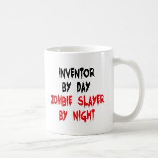 Tueur de zombi d'inventeur mug