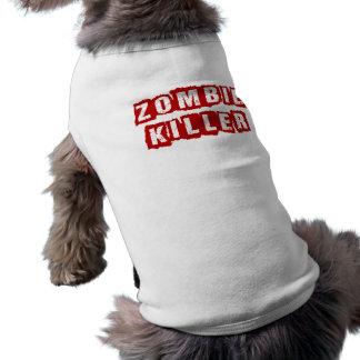 Tueur de zombi - T-shirt de chien
