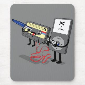 Tueur IPod Clipart (rétro cassette à disque Tapis De Souris