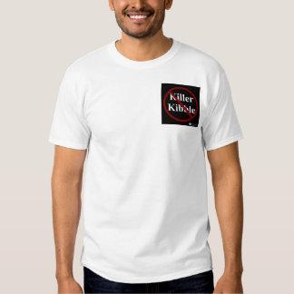 Tueur Kibble/T-shirt aliments pour chiens T-shirts