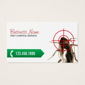 Tueur professionnel d'insecte de lutte contre les cartes de visite