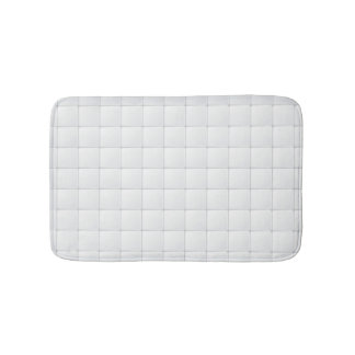 Tuile blanche tapis de bain