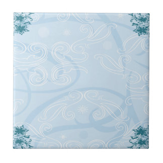 tuile bleue abstraite de texture petit carreau carré