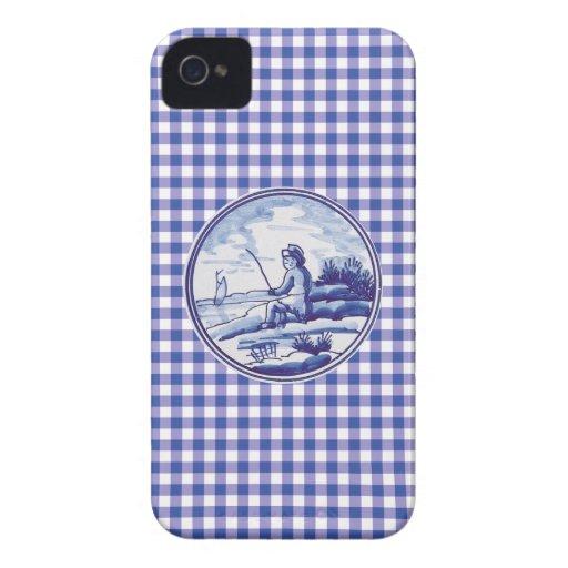 Tuile bleue traditionnelle néerlandaise coques iPhone 4 Case-Mate