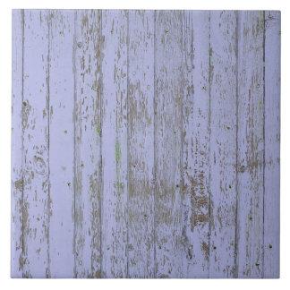 Tuile carrée de texture en bois de Faux de lavande Carreau