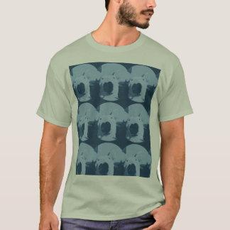 Tuile de bull-terrier t-shirt
