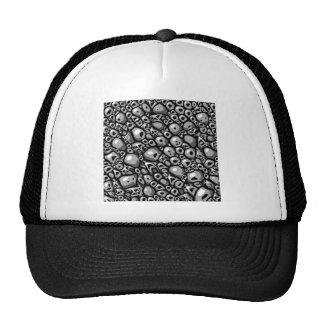 Tuile en pierre monochrome casquettes