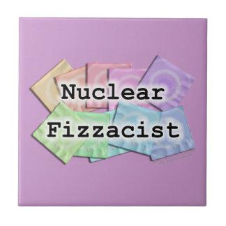 Tuile nucléaire de caboteur de barman de Fizzacist Petit Carreau Carré