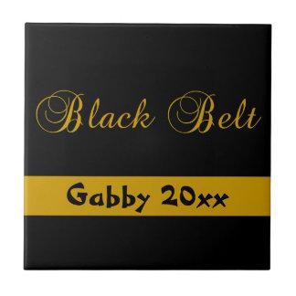 Tuile personnalisée de ceinture noire d'arts marti carreaux