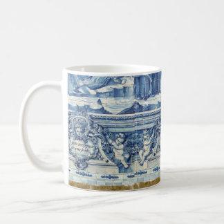 Tuiles bleues et blanches portugaises de Porto Mug