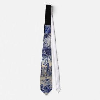 Tuiles d'Azulejo de Portugais Cravates