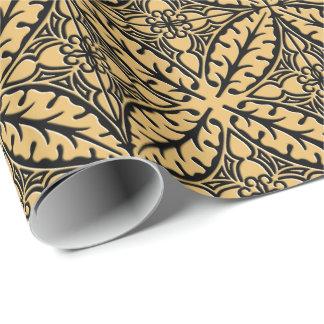 Tuiles marocaines - chameau bronzage et noir papiers cadeaux noël