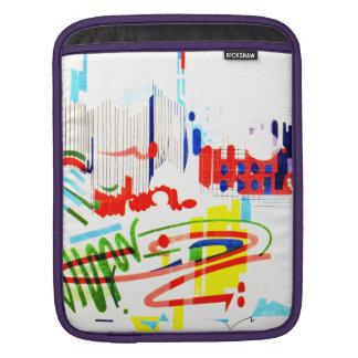 Tuiles modernes de rue - Lisbonne Poches Pour iPad
