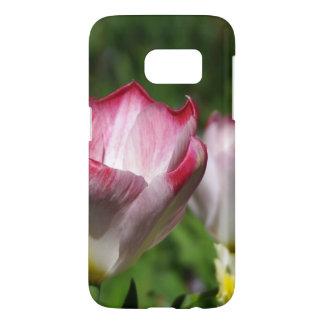 Tulipe rose coque samsung galaxy s7