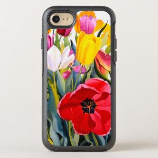 Tulipes 2007 coque otterbox symmetry pour iPhone 7