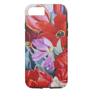 Tulipes amassées 2003 coque iPhone 7