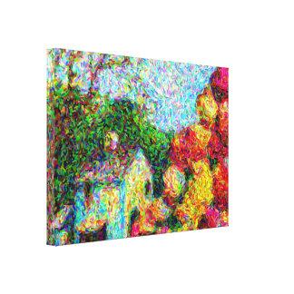 """""""Tulipes art par grange"""" sur la toile"""