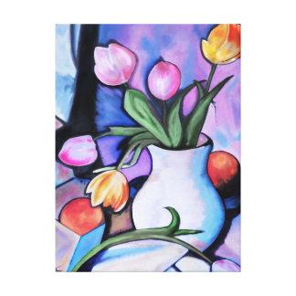 Tulipes - copie de toile