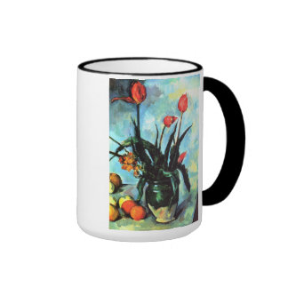 """Tulipes dans un Vase Mug"